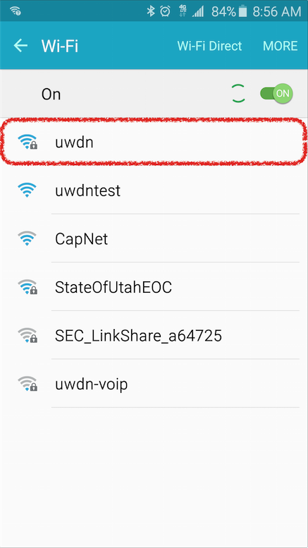 Android Home Screenshot