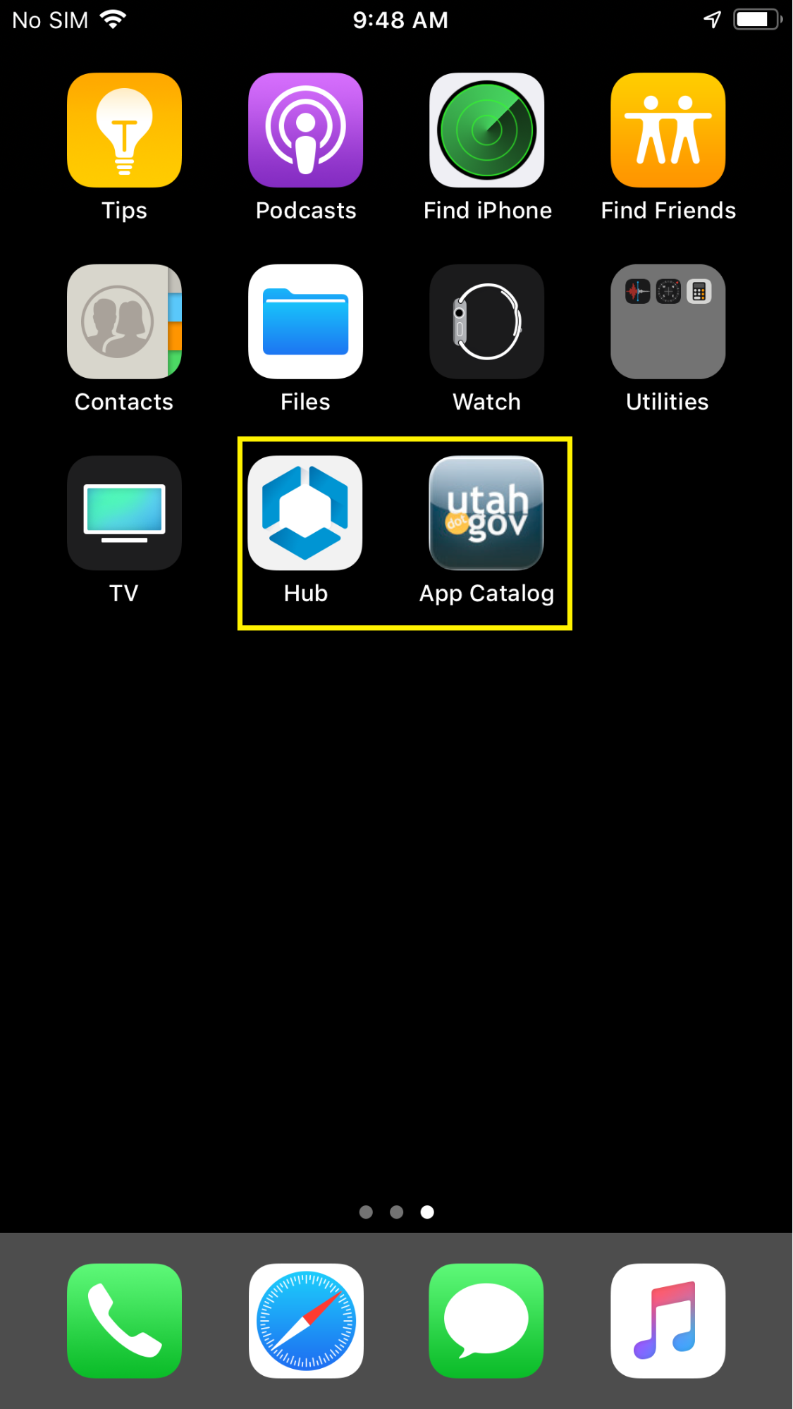 agent and app catalog app icons
