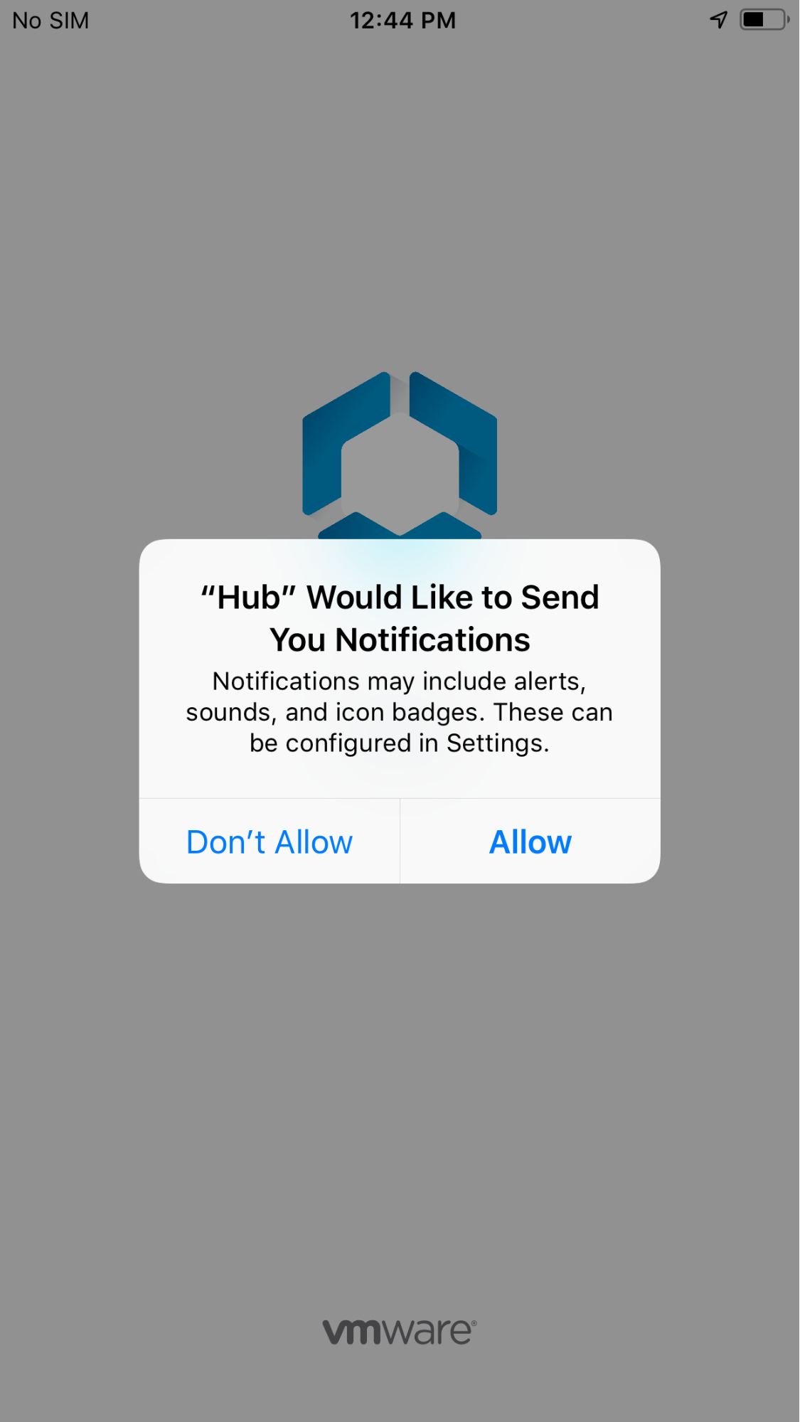 allow Agent notifications