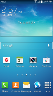 Android Home Screenshot