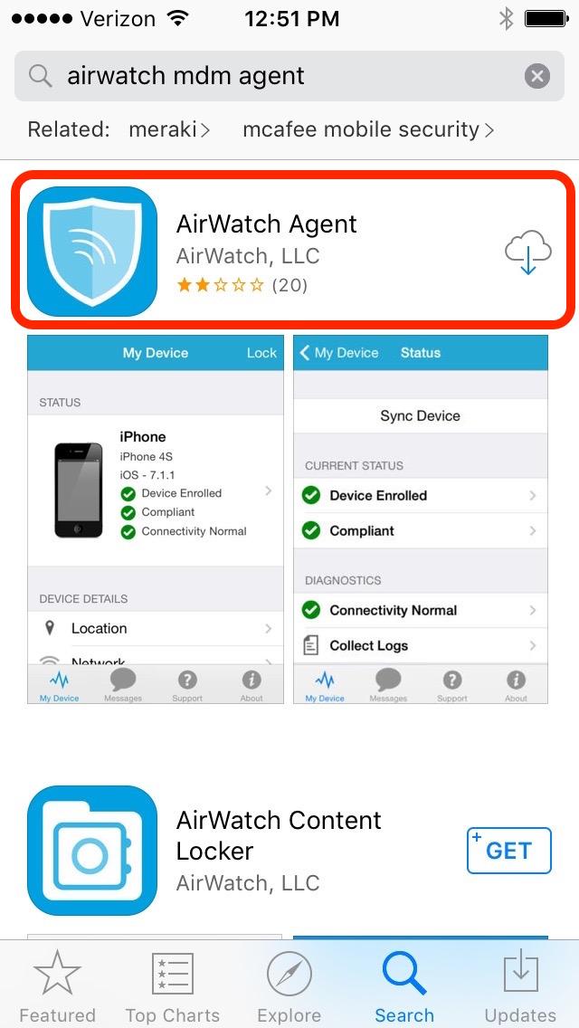 Mobile application field service management