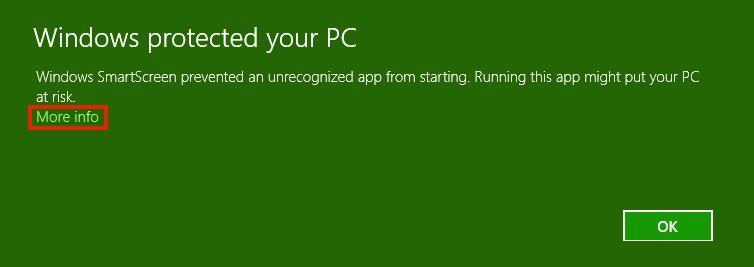 SmartScreen Screenshot
