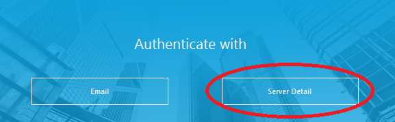 AirWatch Authenticate Screenshot