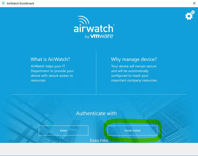 airwatch enrollment